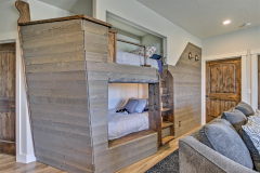 Pirate ship bunkbeds for the kids